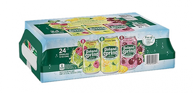 LAST DAY! Awesome Freebie! Get FREE Poland Spring Sparkling Water or Another Beverage from TopCashBack and Staples!