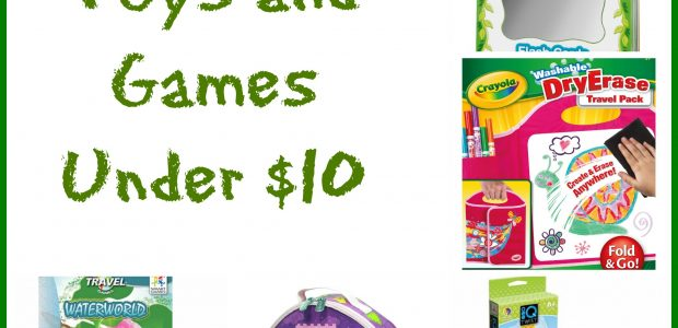 25 Travel Toys and Games Under $10