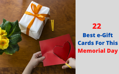 22 Best eGift Cards For This Memorial Day In 2020