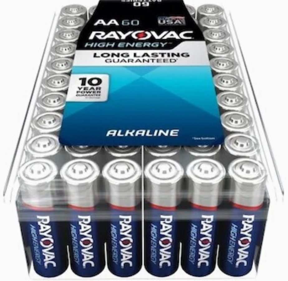 60-pack of batteries