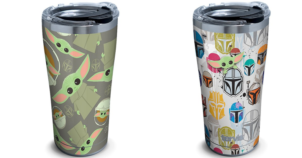 tervis star wars the child and mandalorian tumblers